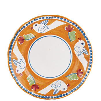 Vietri Uccello Dinner Plate