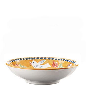 Vietri Uccello Coupe Pasta Bowl
