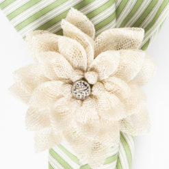 Juliska Dahlia Napkin Ring - Natural