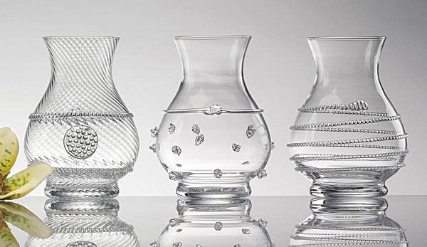 Juliska Mini Vase Trio Clear Le Cookery Usa