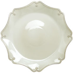 Juliska Berry and Thread Scallop Charger Plate
