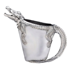 Arthur Court Alligator Pitcher