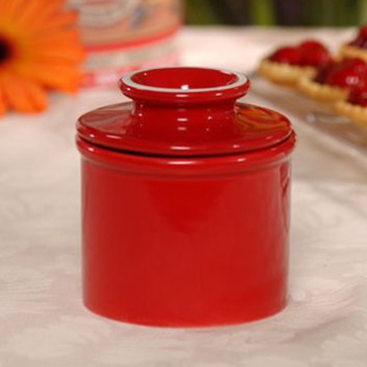 Butter Bell Crocks-Red