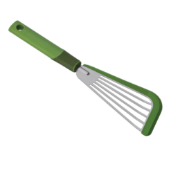 Kuhn Rikon SoftEdge Slotted Spatula - 12-Inch - Green