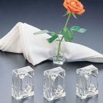 Huang Acrylic Bud Vase Napkin Rings