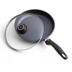 Swiss Diamond Fry Pan with Lid – 10.25 inch
