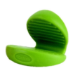 Trudeau Silicone Pinch Holder-Green