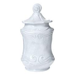 Vietri Incanto Baroque Small Canister