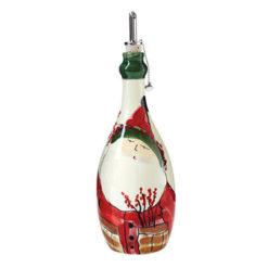 Vietri Old St. Nick Olive Oil Bottle