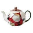 Vietri Old St. Nick Teapot