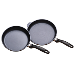 Swiss Diamond 2 Piece Set: Fry Pan Duo - 9.5 and 11inch