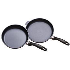 Swiss Diamond 2 Piece Set: Fry Pan Duo - 9.5 and 11inch