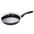 Swiss Diamond Nonstick Fry Pan with Lid - 9.5 inch