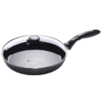 Swiss Diamond Induction Nonstick Fry Pan with Lid - 10.25 inch