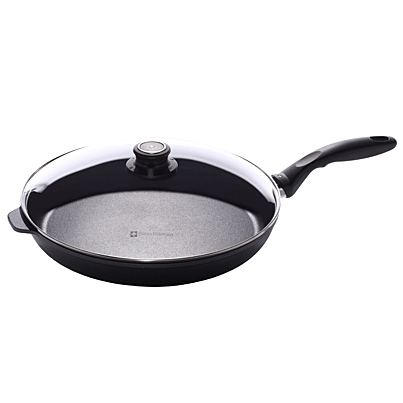 Swiss Diamond Nonstick Fry Pan with Lid - 12.5 inch
