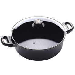 Swiss Diamond Induction Nonstick Braiser - 11 inch