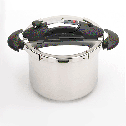 Speedo Pressure Cooker with Timer, Black, 10.5 qt.