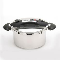 Speedo Pressure Cooker with Timer, Black, 6.5 qt.