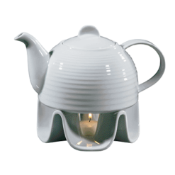 Porcelain Teapot Set, 37 fl. oz.