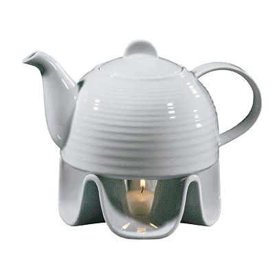 Porcelain Teapot Set, 37 fl. oz.