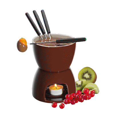 Chocolate Fondue, Brown