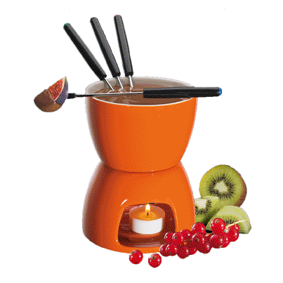Chocolate Fondue, Orange