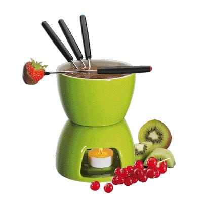 Chocolate Fondue, Green