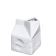 "Porcelain Milk Bag, 10 fl. oz., 2_"" x 2_"" x 3_"
