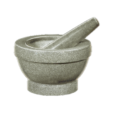 "Mortar & Pestle ""Giant,"" 5"" H, Granite"
