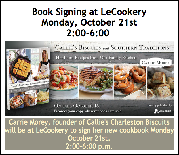 Callies Biscuits and Southern Traditions Book Signing