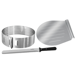 Layer Cake Slicing Kit, stainless steel, Parts