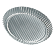"""Flan/Tart Pan, 11"""", Tin Plated"""
