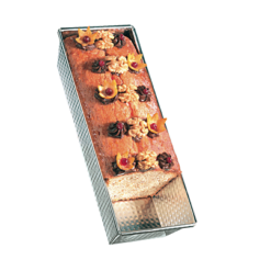"""Loaf Pan, 10"""", Tin Plated with Loaf"""