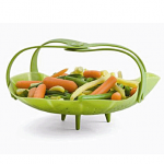 Trudeau Silicone Vegetable Steamer