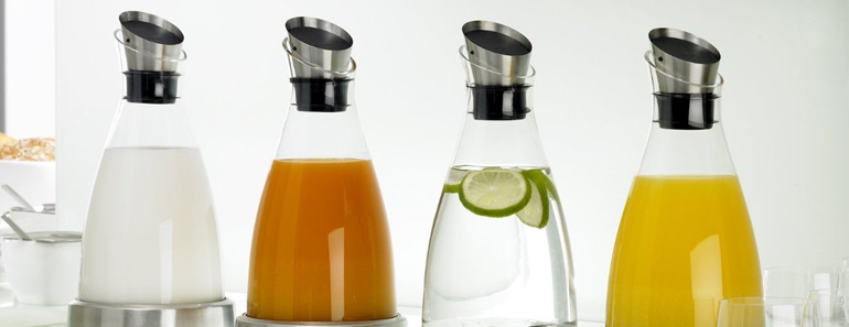 LeCookery Drinkware Banner Flow Carafe