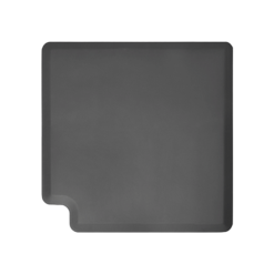 3ft Original WellnessMats Corner Gray