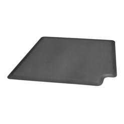 3ft Original WellnessMats Corner Gray Left