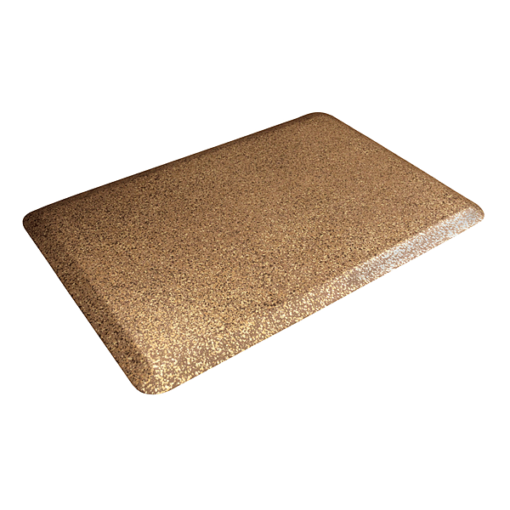 3x2 Granite WellnessMats Copper Left
