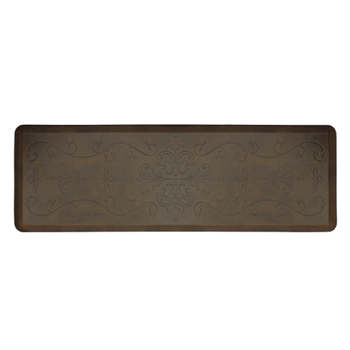Wellness Mats Entwine Motif Dark Antique 6x2