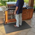 Wellness Mats Maxum Gray Grill 5ft x 3ft
