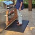 Wellness Mats Maxum Gray Grill Left 5ft x 3ft