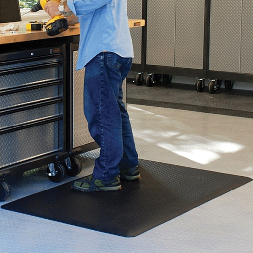 Wellness Mats Maxum Black Workshop 5ft x 3ft