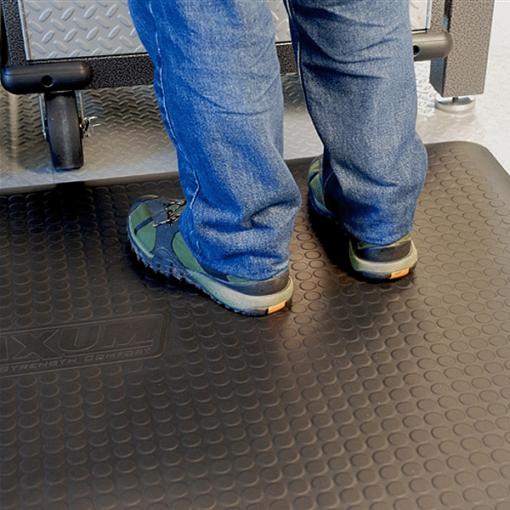 Wellness Mats Maxum Black Detail 5ft x 3ft