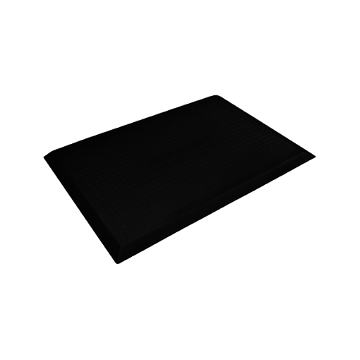 Wellness Mats Maxum Black Left 3 ft x 2 ft