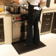 Wellness Mats Maxum Black Kitchen 3 ft x 2 ft