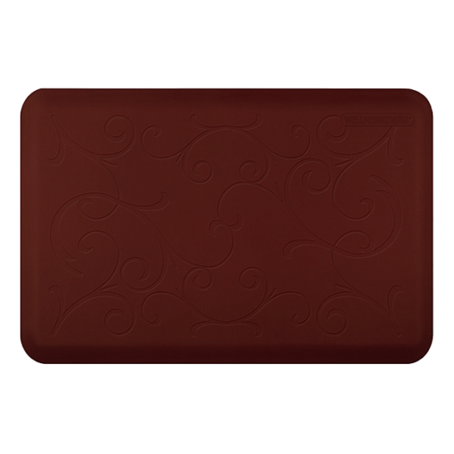 Wellness Mats Motif Bella Burgundy 3x2