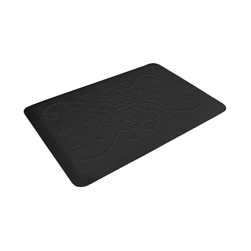 Wellness Mats Motif Entwine Black 3x2 Left
