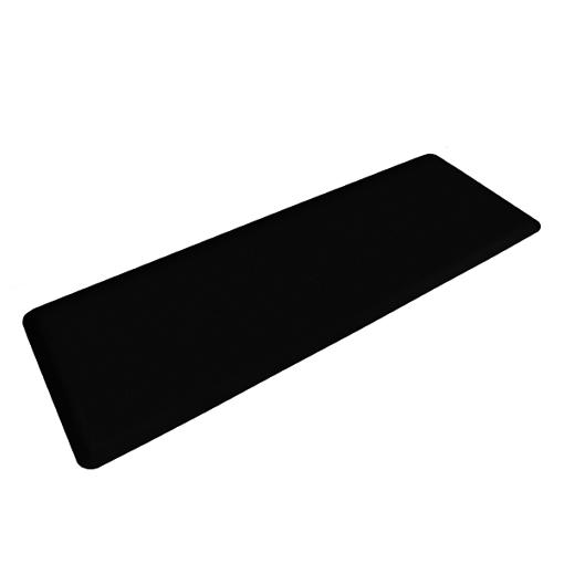Wellness Mats Motif Entwine Black 6x2 Left