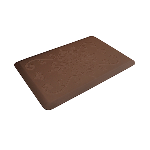 Wellness Mats Motif Entwine Brown 3x2 Left