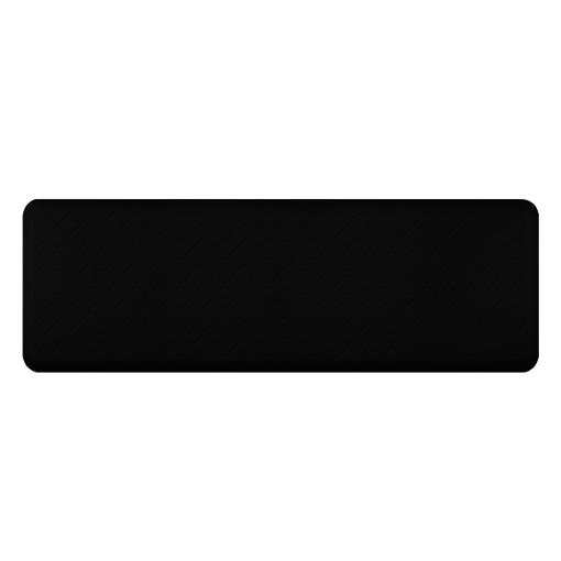 Wellness Mats Motif Trellis Black 6x2
